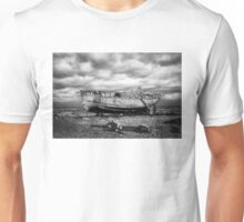 High and Dry at Dungeness Unisex T-Shirt