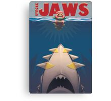 Pokemon Strong Jaws Canvas Print