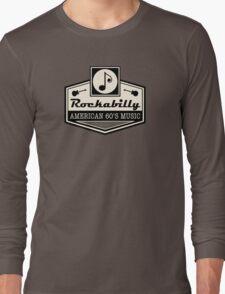 Rockabilly American 60's Music Long Sleeve T-Shirt