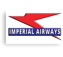 Imperial Airways Canvas Print