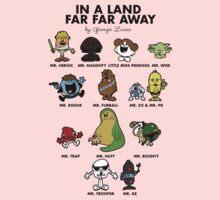In A Land Far Far Away Kids Tee