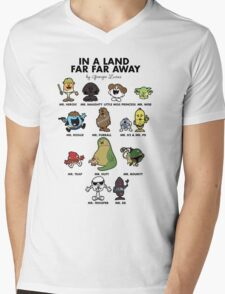 In A Land Far Far Away Mens V-Neck T-Shirt