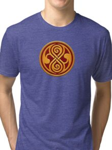 Seal of Rassilon Tri-blend T-Shirt