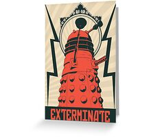 Dr Who Dalek Greeting Card