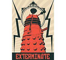 Dr Who Dalek Photographic Print
