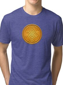 Sign of the Time Lords Tri-blend T-Shirt