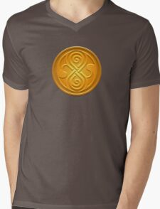 Sign of the Time Lords Mens V-Neck T-Shirt