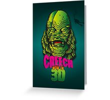 Creech Greeting Card