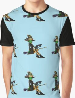The Green Witch  Graphic T-Shirt