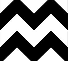 Black & White Chevrons by Y05K