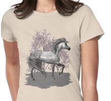 The Gray Pony  Womens Fitted T-Shirt