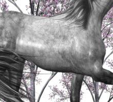 The Gray Pony  Sticker