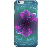 Ornate Blossom in Fuchsia iPhone Case/Skin