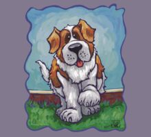 Animal Parade St. Bernard Kids Tee