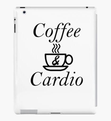 Coffee and Cardio iPad Case/Skin
