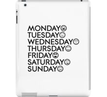 Typical Week iPad Case/Skin