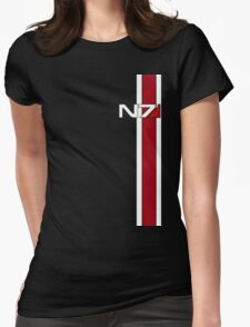 Mass Effect N7 Womens Fitted T-Shirt