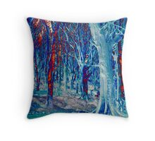 Woodland Fantasy Throw Pillow