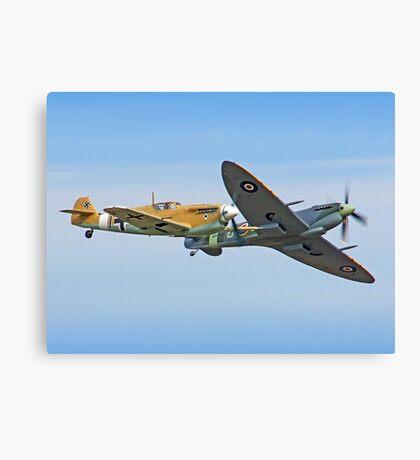 Breaking Left - Duxford Flying Legends 2013 Canvas Print