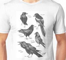 Corvids Unisex T-Shirt