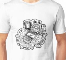 City Sun Rising Beneath the Rose Saw and Cornucopia Unisex T-Shirt