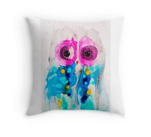 Moments Owl Throw Pillow