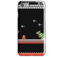 MARIO - VS BOWSER iPhone Case/Skin