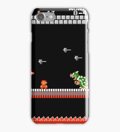 MARIO - VS BOWSER iPhone Case/Skin