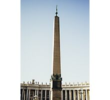 St Peter's Obelisk Photographic Print