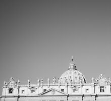 St Peter's Basilica by PatiDesigns