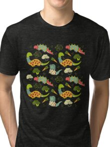 Eat Your Veggies in Brights Tri-blend T-Shirt