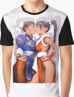 Chun-li and Mai Graphic T-Shirt