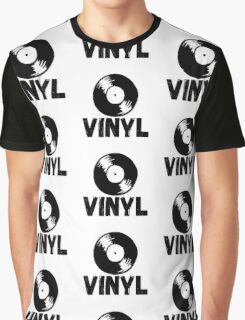 Vinyl Records Forever Graphic T-Shirt