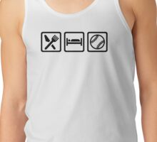 Eat sleep Softball Tank Top