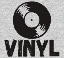 Vinyl Records Forever Kids Tee