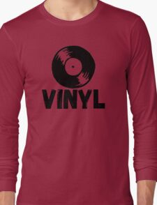 Vinyl Records Forever Long Sleeve T-Shirt