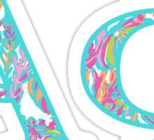 Alpha Phi Pattern Sticker