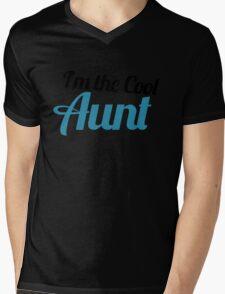 I'm the cool aunt Mens V-Neck T-Shirt