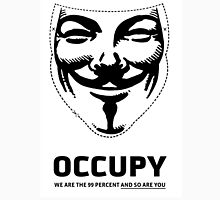 Guy Fawkes - Occupy Unisex T-Shirt