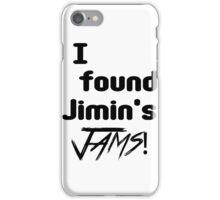 BTS- Jimin's Jams iPhone Case/Skin