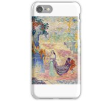 Henri Edmond Cross – Lady at the Park,  iPhone Case/Skin