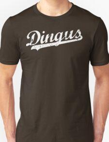 L.A. Dingus - The Blue Crew (White) Unisex T-Shirt
