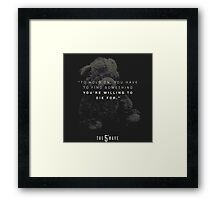 the 5th wave movie quotes Framed Print