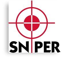 I am a sniper Canvas Print
