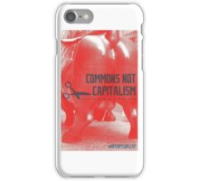 Commons Not Capitalism iPhone Case/Skin