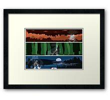 Pokemon Starters - Johto Framed Print