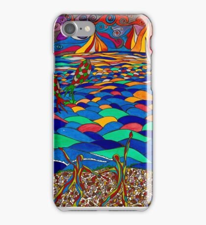 DANCING BY THE SEA iPhone Case/Skin