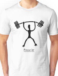 Weight Lifting Overhead Unisex T-Shirt