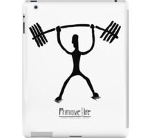 Weight Lifting Overhead iPad Case/Skin