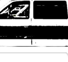 El Camino Car Outline - The Black Keys Sticker